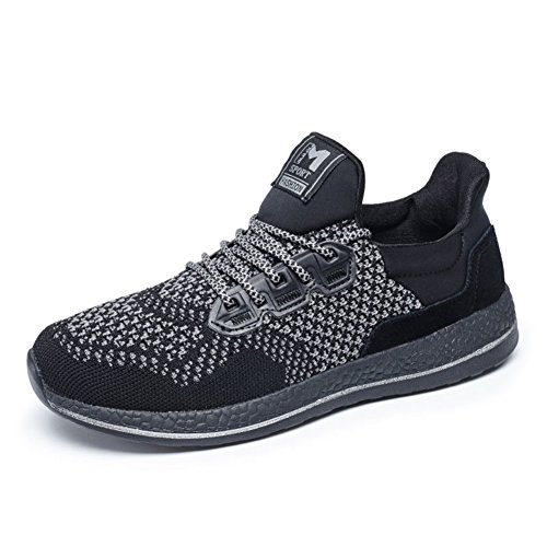 Scarpe sportive uomo estate/Mesh traspirante scarpe/Mesh scarpe/Fly maglia scarpe casual maschile-A Lunghezza piede=26.8CM(10.6Inch)
