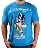 510n2XGMsBL. SL160  Ed Hardy By Christian Audigier Mad Wolf Mens T Shirt Crewneck Tee