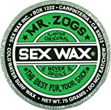 Mr. Zogs Original Sexwax - Cold Water Temperature Mixed Scent (Randomly Scent)
