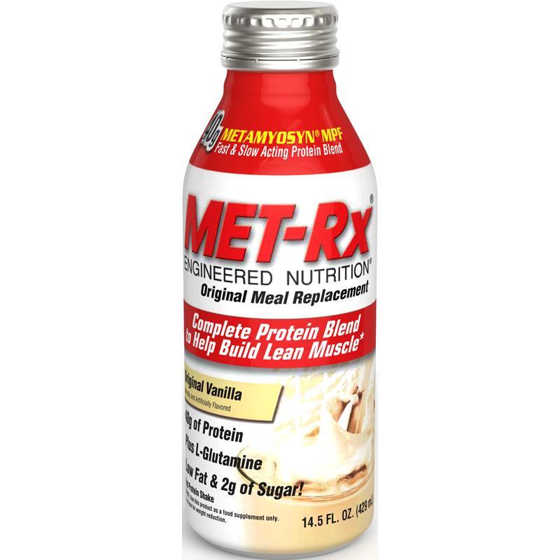 Amazon.com: MET-Rx Omr RTD, Vanilla, 14.5-Ounces Bottles (Pack of ...