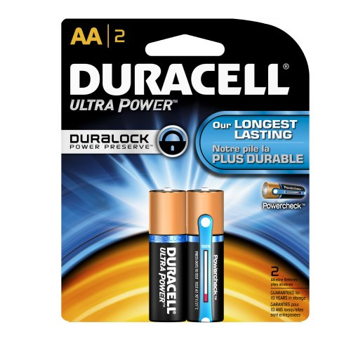 Duracell Mx1500B2Z10 Ultra Advanced Alkaline-Manganese Dioxide Battery Regular Pack, Aa Size, 1.5V (Case Of 56 Cards, 2 Unit Per Card)