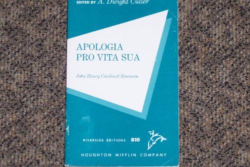 Apologia Pro Vita Sua (Riverside editions)