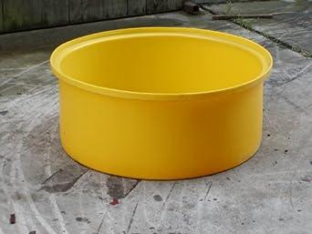 "Dixie Poly BM-SSB Polyethylene Catch Basin, 32.5"" Inside Diameter x 13.75"" Height"