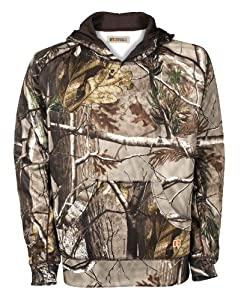 Russell Outdoors Youth Tech Performance Fleece Pullover Hood, Realtree AP, Large