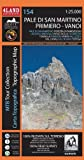 Pale di San Martino, Primiero, Vanoi - High Precision Topographic Map 1:25.000