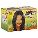 Africas Best Relaxer System, No-Lye, Herbal Intensive Dual Conditioning, Regular/Normal, 1 application