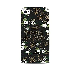 StyleO iPhone 5 / iPhone 5s Designer Printed Case & Covers Matte finish Premium Quality (iPhone 5 / iPhone 5s Back Cover) - I can and I will Quote