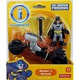 Fisher-Price Imaginext DC Super Friends - Batman & Batcycle
