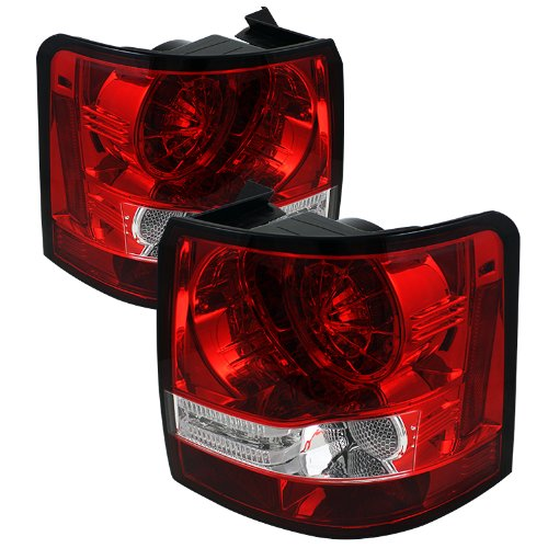 Spyder Auto Alt-Yd-Lrrrs06-Led-Rc Land Rover Range Rover Sport Red/Clear Led Tail Light