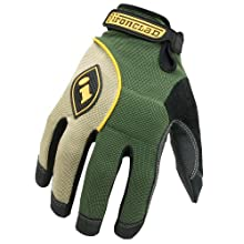 Ironclad HUL-04-L Heavy Utility Landscaper Gloves, Large