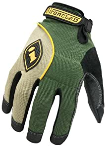 Ironclad HUL-05-XL Heavy Utility Landscaper Gloves, Extra Large