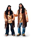 Sunnywood Men's Lava Diva Hippie Costume Shirt