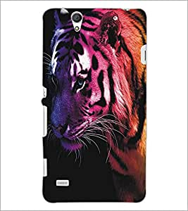 SONY XPERIA C4 TIGER Designer Back Cover Case By PRINTSWAG