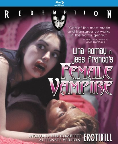 Female Vampire (with Erotikill): Remastered Edition [Blu-ray] by Redemption Films