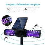 Dolucky Solar Bug Zapper LED Light insect & Mosquito killer Lamp