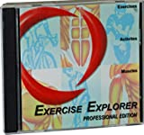 Exercise Explorer Professional - Powerful Exercise and Workout Management Software for Personal Trainers, Fitness Professionals or Anyone Administering Exercise Programs - 1 Trainer & 25 Clients Version