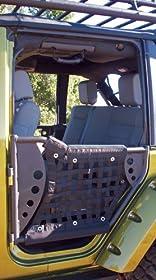 Body Armor 4x4 JK-6136 Black Trail Doors for 2007-2013 Jeep JK (Pair)