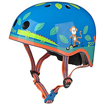 Micro Safety Helmet Jungle Small for Boys and Girls Cycling Scooter Bike by Micro Scooters