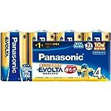 パナソニック EVOLTA 単1型アルカリ乾電池 4本パック LR20EJ/4SW