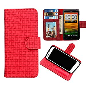 DooDa PU Leather Wallet Flip Case Cover With Card & ID Slots & Magnetic Closure For Lava Xolo Q3000