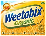 Weetabix Organic Biscuits Box (Pack of 4, Total 96 Biscuits)