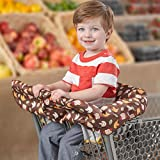 Skip Hop Zoo Shopping Cart and High Chair Cover, Marshall Monkey