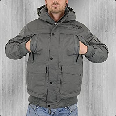 Yakuza Premium Winterjacke Flying Riots YPJA 1737 grau - fällt normal aus!!