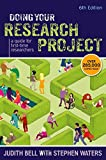 Judith Bell Doing your Research Project: A guide for first-time researchers