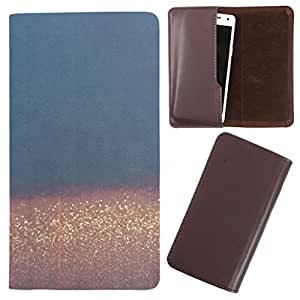 DooDa - For iBall Andi 5F Infinito PU Leather Designer Fashionable Fancy Case Cover Pouch With Smooth Inner Velvet