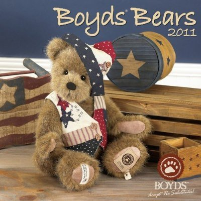 Boyds Bears Accept No Substitutes! 2012 Wall