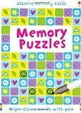 Puzzle Cards: Memory Puzzles (Usborne Puzzle Cards)