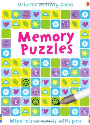 Memory Puzzles (Usborne Puzzle Cards)