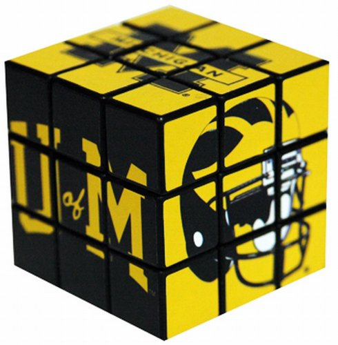 NCAA Michigan Wolverines Toy Puzzle Cube - 1