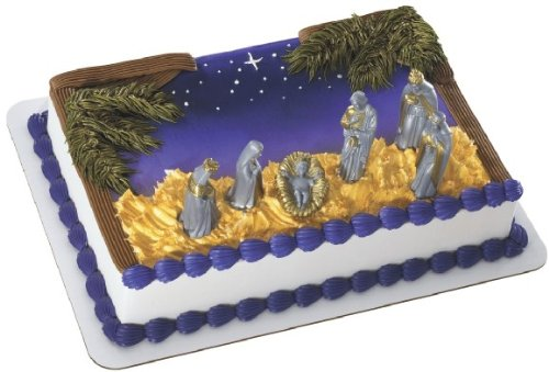 Christmas Nativity Scene Cake Decorating Kit