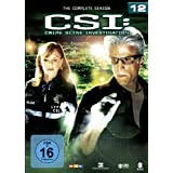 CSI: Crime Scene Investigation - Season 12 6 DVDs