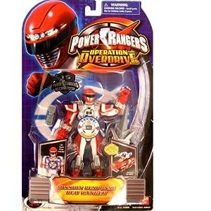 Power Rangers Operation Overdrive 5-Inch Power Ranger Action Figures Mission Response Red Power Ranger