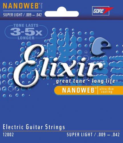Elixir Strings Electric Guitar Strings, 6-String,