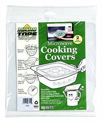 Camco 43790 Microwave Cooking Cover - Pack of 2