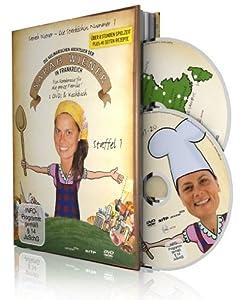 Die kulinarischen Abenteuer der Sarah Wiener in Frankreich 1 (2 Discs + Buch)