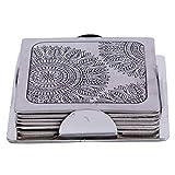 Redbag Mangrove Houseware Coasters Stainless Steel TT 09 D (8.51 Cm, 8.51 Cm, 0.30 Cm)