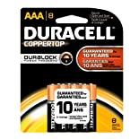Duracell Coppertop with DuraLock AAA - 8PK MN24BPTPZ99