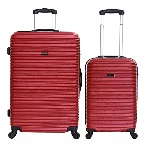 Karabar Grantham II set di 2 valigie rigide, Rosso
