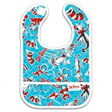 Bumkins Waterproof Starter Bib, Dr. Seuss Cat in The Hat