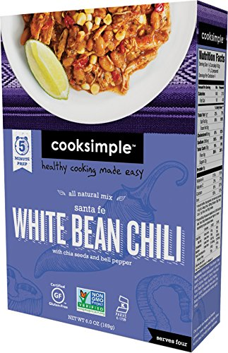 cooksimple-all-natural-mix-santa-fe-white-bean-chili-with-chia-seeds-and-bell-pepper-1-pack
