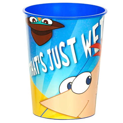 Phineas and Ferb 16 oz. Hard Plastic Cups - 1