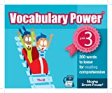 Vocabulary Power: 200 Words to Know for Reading Comprehension, Grade 3