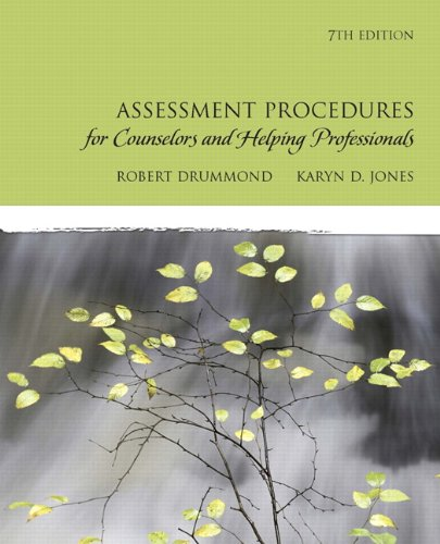 Assessment Procedures for Counselors and Helping...