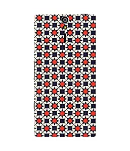 Red Stars Sony Xperia S Case