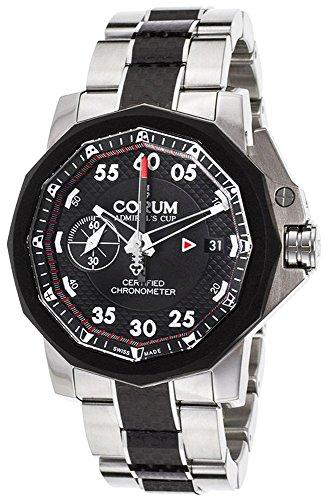 Corum Admiral's Cup Seafender Chrono Centro Automatic Titanium Mens Watch A961/02939