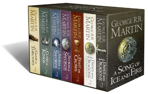 A Game of Thrones: The Story Continues: The Complete Box Set of All 7 Books (A Song of Ice and Fire)